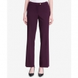 Calvin Klein Women's Petite Modern Fit Trousers Purple Size 10 for $94