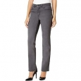 Charter Club Women's Petite Lexington Straight-Leg Jeans Gray Size 10 for $94