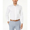 Club Room Men's Slim-Fit Pinpoint Solid Dress Shirt White Size 32-33 for $94