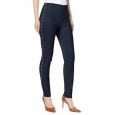 INC International Concepts Women's Curvy-Fit Studded Pull-On Skinny Pants Black Size 2 for $94
