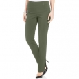 JM Collection Women's Petite Studded Pull-On Pants Petite & Petite Short Green Size Petite for $34