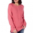 Karen Scott Women's Cable-Knit Sweater Pink Size 2 Extra Large for $94