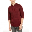 Levi's Men's Cash Textured Fleece Hoodie Red Size Extra Large for $94