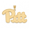 NCAA 14k Gold Plated Silver U. of Pittsburgh XL Pendant for $86