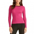 Rachel Roy Women's Metallic Ringer Pullover Sweater Pink Size 2 Extra Large for $34