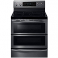 Samsung NE59J7850WG 5.9 Cu.Ft. Black Stainless 5 Burner Flex-Duo Range for $1,999