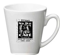 New Deal Cafe 25th anniv coffee mug