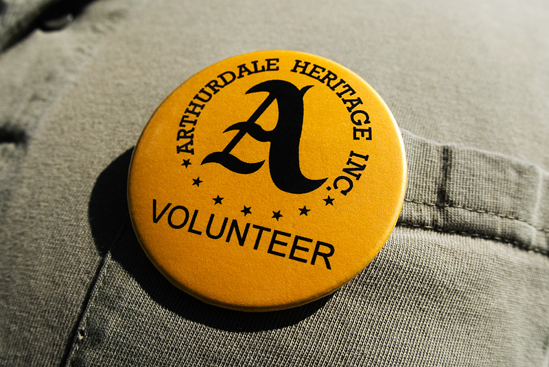 Volunteer Button