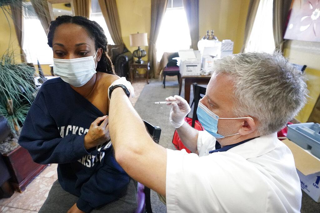 In coronavirus vaccine drive, Deep South falls behind – New Delhi Times