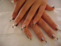 15 Clear Nail Designs Images - Clear Nails with Designs ...
