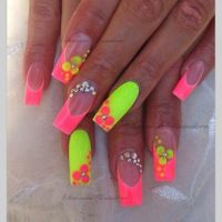 14 Neon Color Designs Nails Toes Images - Bright Neon ...