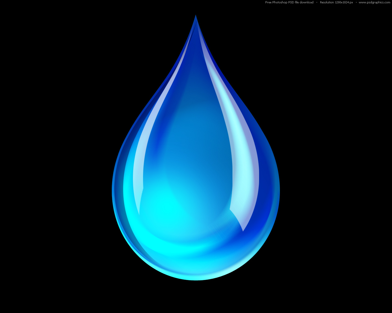 Drop Of Water Falling From A Leaf Dark Background Wallpaper 19 Water Droplet Icon No Background Images Droplet Water