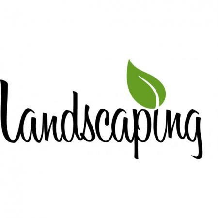 landscaping logo free vector