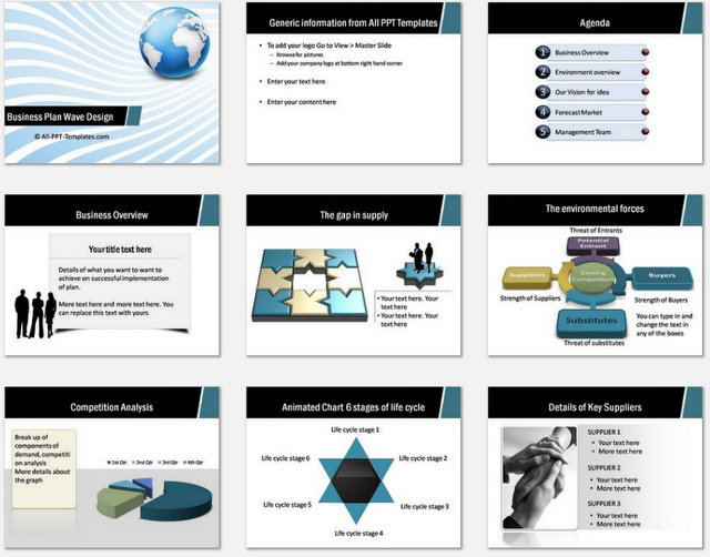 15 Design Business Plan Templates Images Free Business