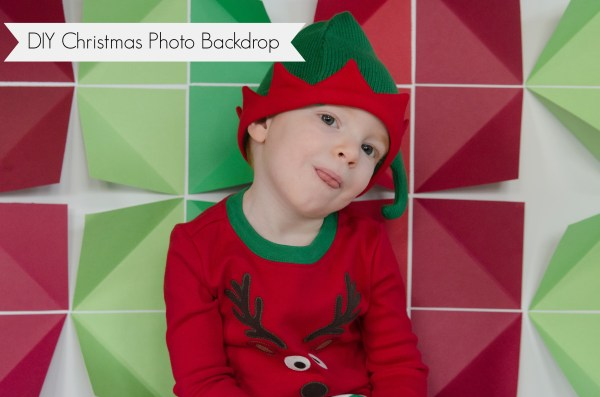 diy christmas photo booth backdrop ideas