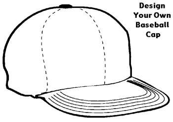16 baseball cap design