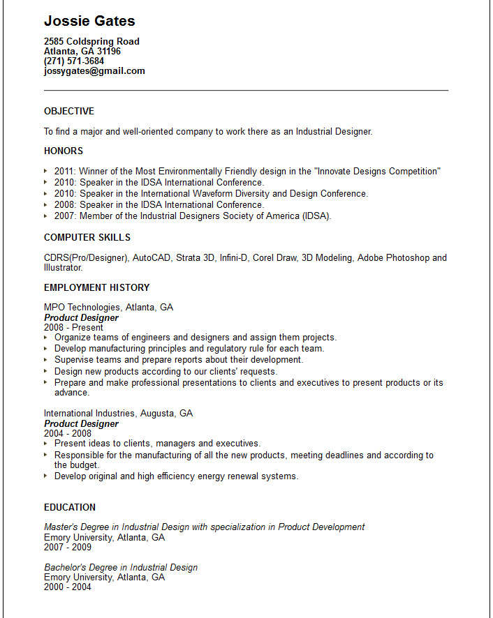 Resume CV Cover Letter Medium Size Of Resumefree Cv Format  Graphic Design Resume Objective
