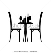 13 Cafe Tables And Chairs Vector Images - Vector Table and ...