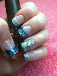 15 Acrylic Winter Nail Designs Images - Winter Acrylic ...