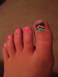 12 Aztec Toe Nail Designs Images - Cute Toe Nail Design ...