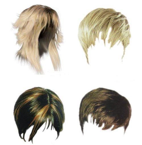10 Boys Hair PSD Files Images Justin Bieber Hair