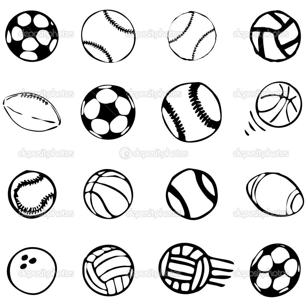 16 Sports Symbols Vector Images