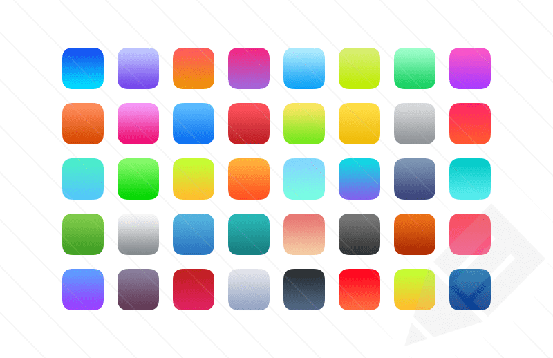 Iphone X Verge Wallpaper 13 Ios Icon Background Images Free Sprinkle Islands