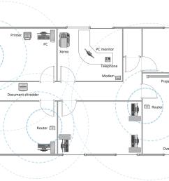 office building layout plan [ 1220 x 754 Pixel ]