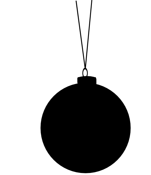 vector silhouette christmas