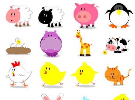 10 cute desktop icons