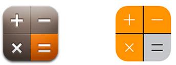 12 calculator app icon