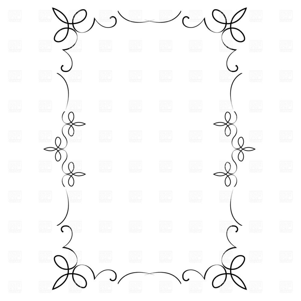 medium resolution of free vector decorative frame borders