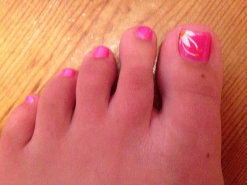 Pinterest Toe Nail Art Designs