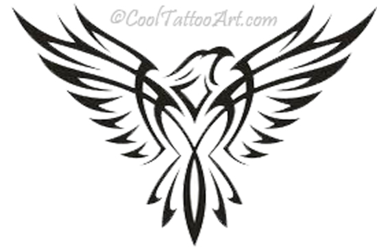 Clip Art Eagle Feather Tattoo