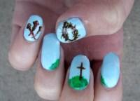 9 Christian Nail Designs Images - Christian Fish Nail Art ...