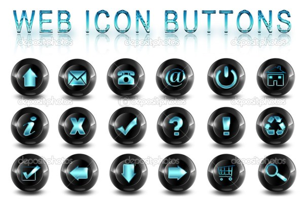 11 Web Page Button Icons Images Cool Web Buttons Free