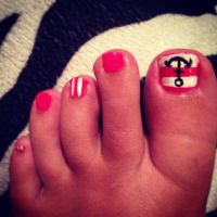 15 Cute Toenail Designs Pink Images - Pink and Black ...
