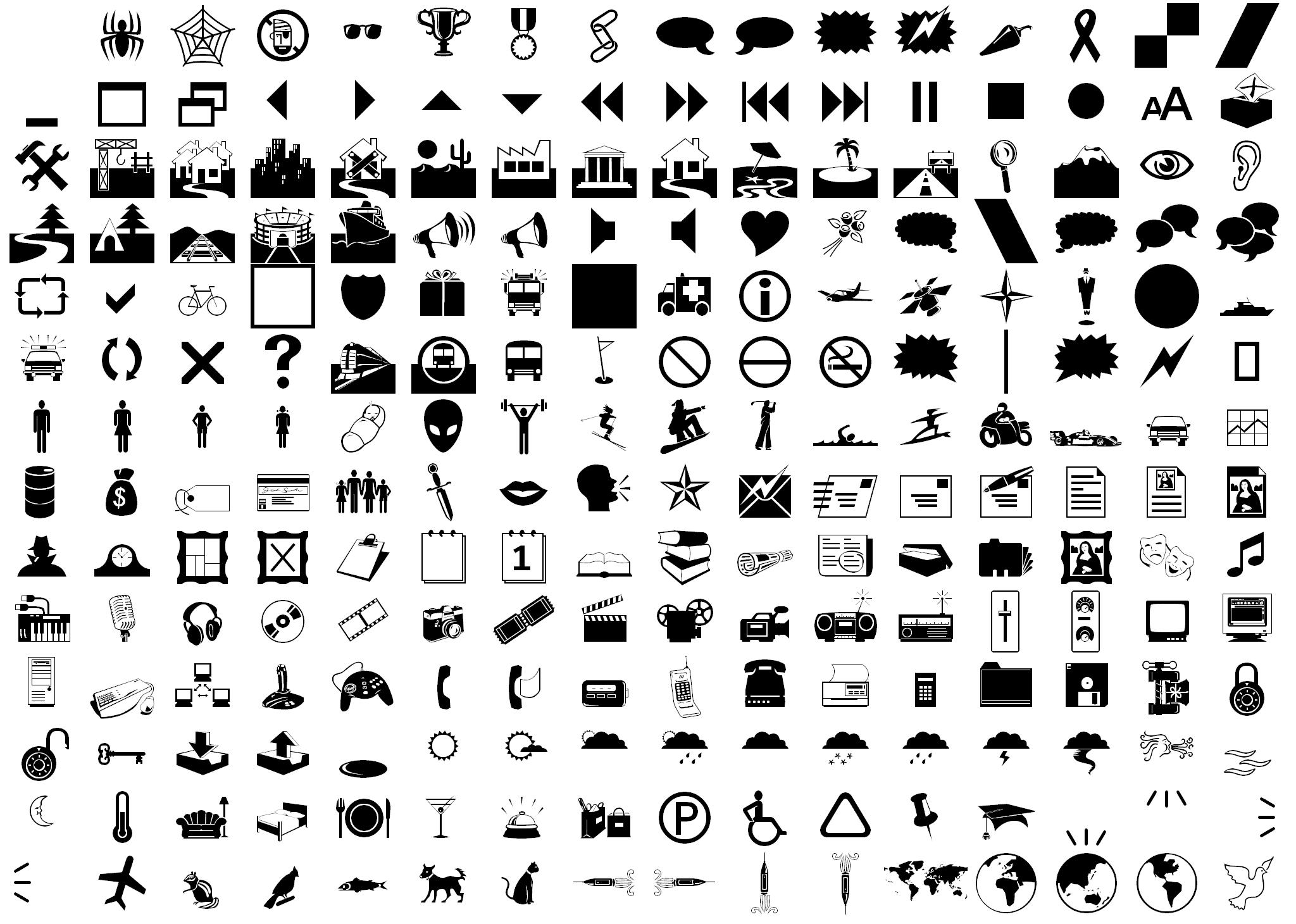 12 Diameter Symbol Font Images