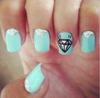 19 Cute Blue Nail Designs Images - Cute Nail Designs with ...