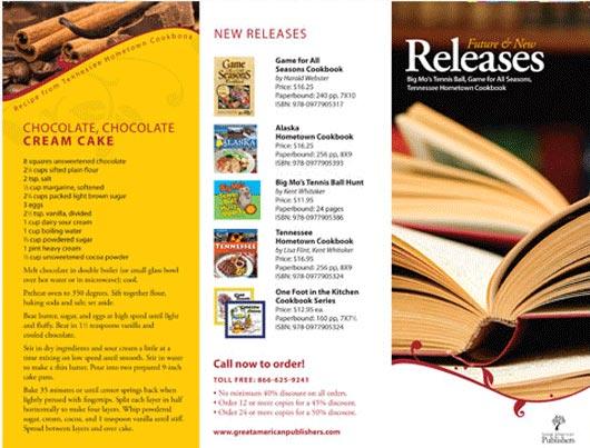 Professional Brochures Examples Ideal Vistalist Co
