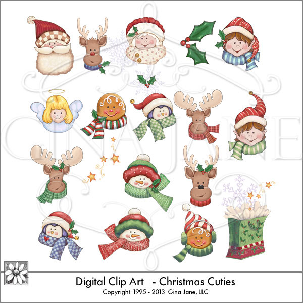 claus christmas icons