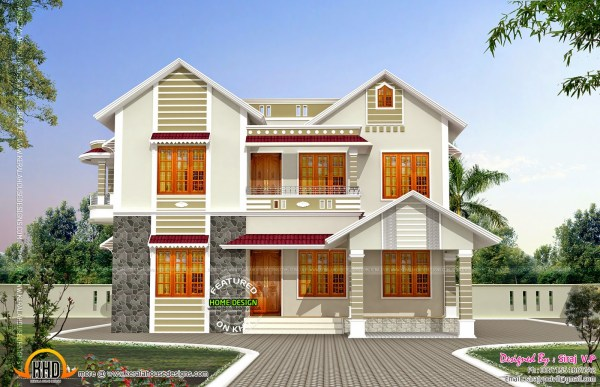 Front and Side View House Plans