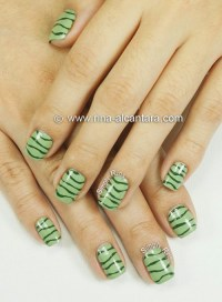 12 Line Nail Art Designs Images - Nail Designs with Lines ...