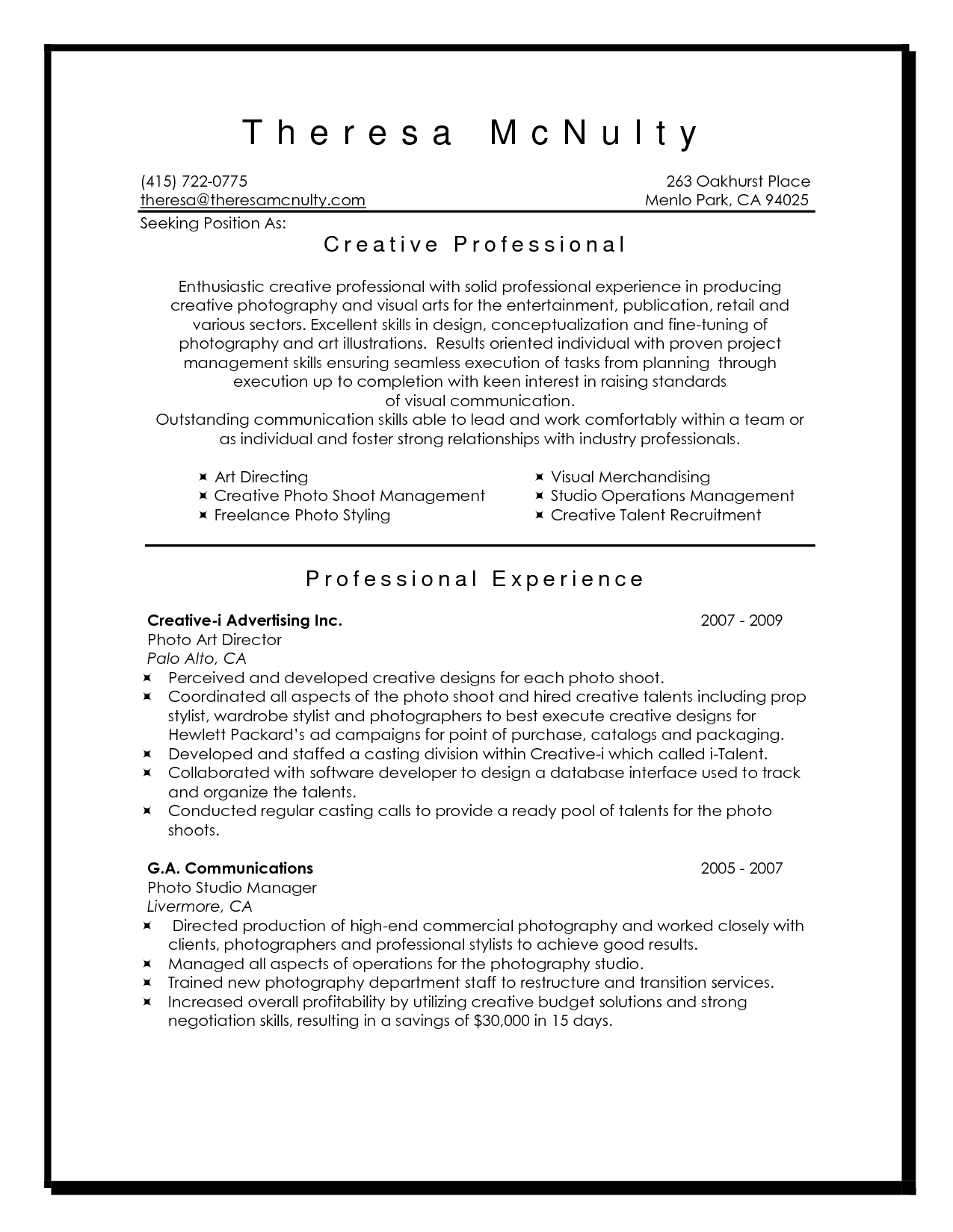 Interior decorating resume sample - researchon.web.fc2.com