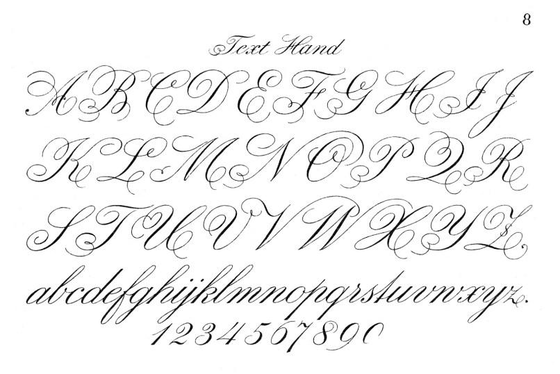 Fancy Script Letters For Tattoos | Letterjdi.org