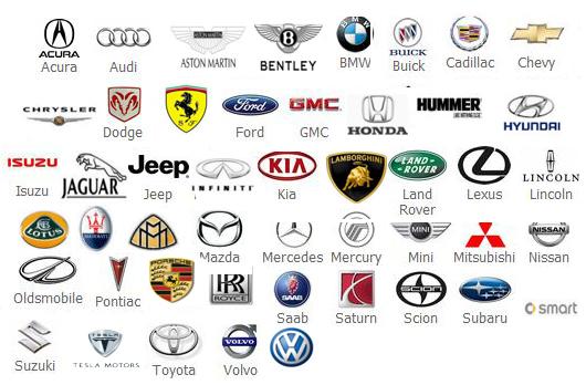 15 car company symbol