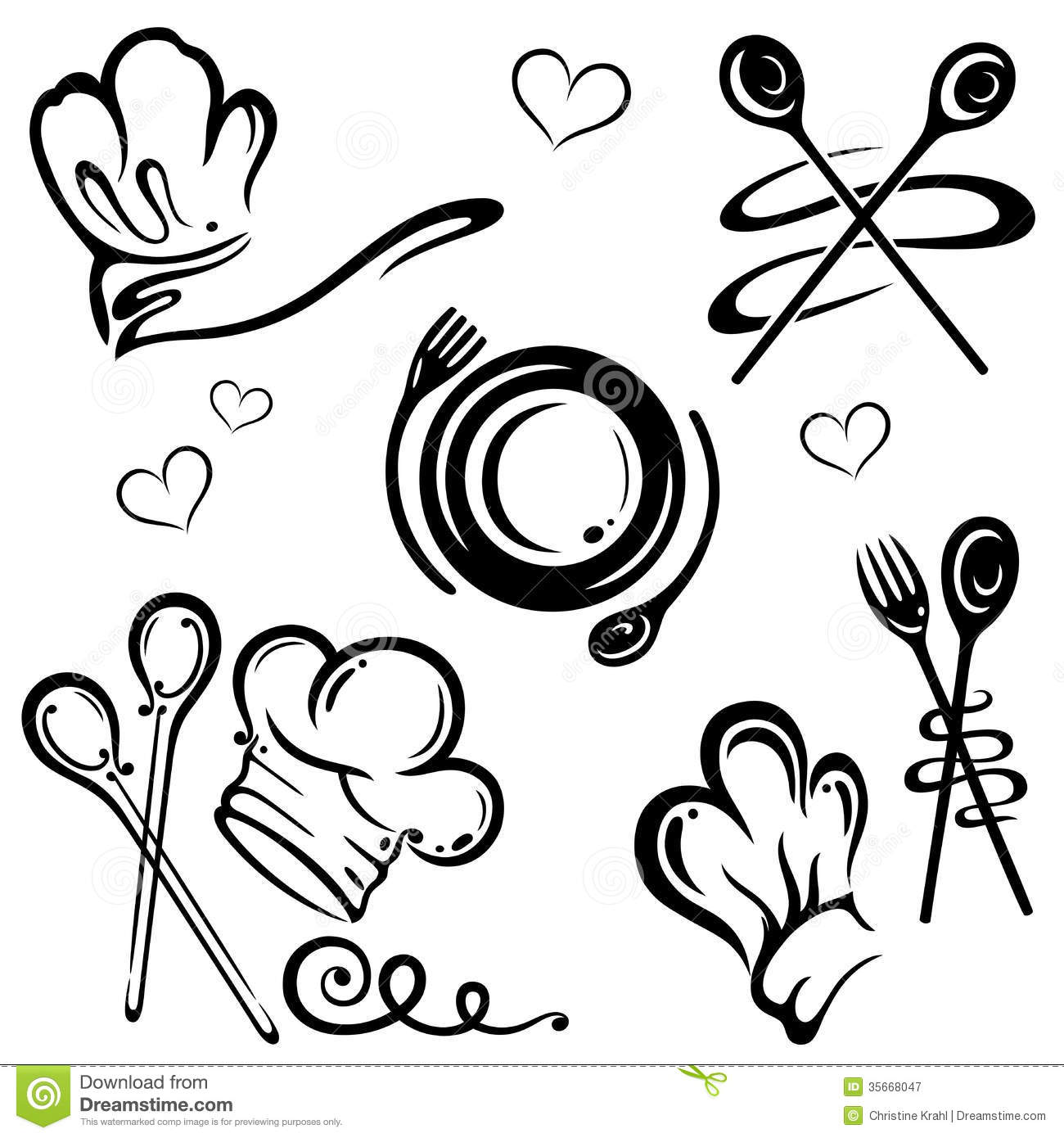 20 Free Cooking Vectors Images