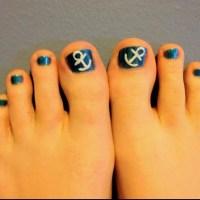 15 Anchor Toe Nail Designs 2014 Images - Anchor Toe Nail ...