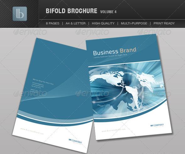 bi fold template free