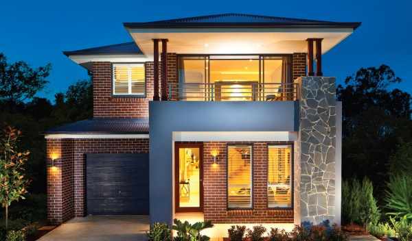 Small Two-Story House Designs